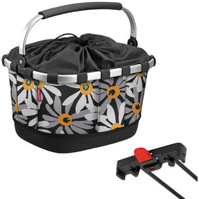 KlickFix Reisenthel Carrybag GT Bike Basket for Racktime, margarite